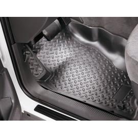 Tapis de sol en caoutchouc à l'avant noir Jeep Cherokee XJ 95-01