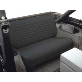 Housse de siège arrière noir Bestop Jeep CJ 65-86 Wrangler YJ 87-95