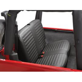 Housse de siège noir arrière Seat noir Bestop Jeep Wrangler TJ 96-02