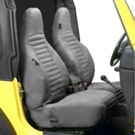 Housses de siège gris anthracite Bestop Jeep Wrangler TJ 96-02