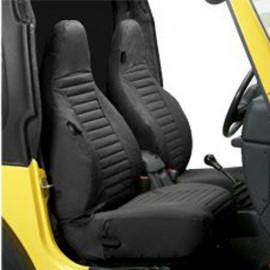 Housses de siège Bestop noir Jeep Wrangler TJ 96-02 noir