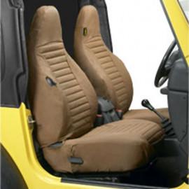Housses de siège Spice Marron Bestop Jeep Wrangler TJ 96-02