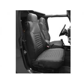 Housse de siège noir diamant Jeep Wrangler TJ 03-06