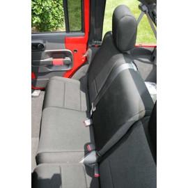 Housses de siège arrière 4 portes Jeep Wrangler JK