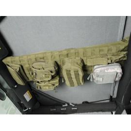 Console supérieure Tan uniquement pour Softtop Jeep Wrangler JK 07-15