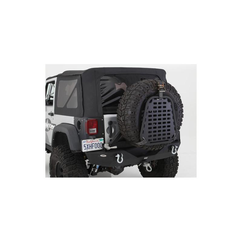 Roue de secours pour compartiment de rangement I-Rack Jeep Wrangler Cherokee