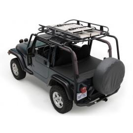 Porte-bagages de toit noir Staubox Jeep Wrangler JK 07-18