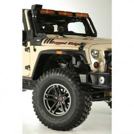 Jante Jesse Spade 17x9 Satin Gun Metal 07-18 Jeep Wrangler JK / JL