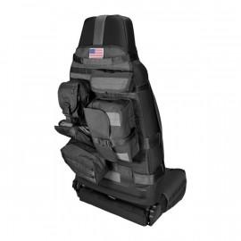 Housse de siège avant Cargo Noir Jeep CJ / Wrangler YJ / TJ / JK / JL