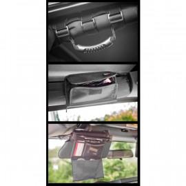 Kit de rangement pour arceau de sécurité intérieur 07-09 Jeep Wrangler JK