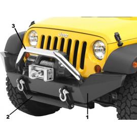 High Rock Pare choc Avant Jeep Wrangler JK 07-18