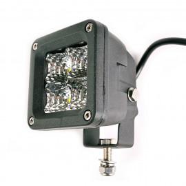 Projecteur led carré 20W éclairage de projecteur Jeep Offroad Universal