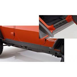 Protecteurs de sol en plastique à 4 portes Jeep Wrangler JK 07-