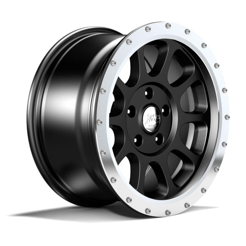 Anneau de Jante Jeep ASP-Alloys en aluminium argenté