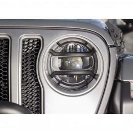 Kit protection de phare noir Jeep Wrangler JL / JLU