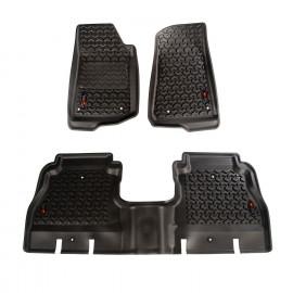 Kit de tapis de sol tout terrain, noir Jeep Wrangler JL 4 portes 12987.05