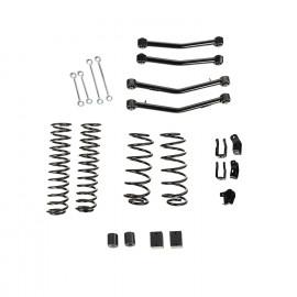 Kit de suspension 4P sans amortisseurs, avec bras, 18-19 Jeep Wrangler JL, 4 portes