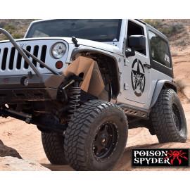 Garde-boue intérieur Poison Spyder Jeep Wrangler JK