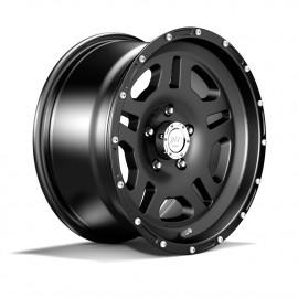 Jante en aluminium noir 8,5x17 ET +10 Duratrail Jeep Wrangler JK 07-