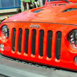 Calandre noire Drake Jeep Wrangler JK 07-18