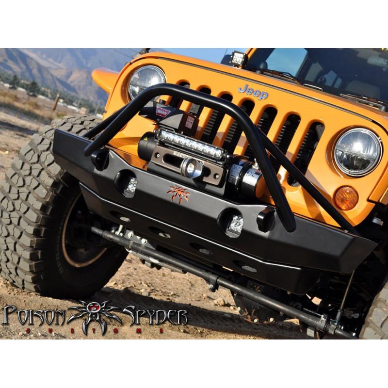 Pare-chocs avant Brawler avec aile Jeep Wrangler JK 07-