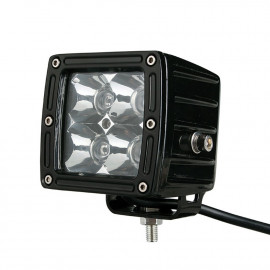 Phare à led carré 20W éclairage Jeep Offroad