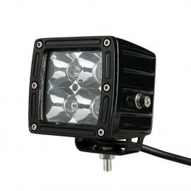 Phare à led carré 20W éclairage Jeep Offroad
