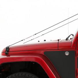 Tige de protection réglable Jeep Wrangler TJ JK 96-16