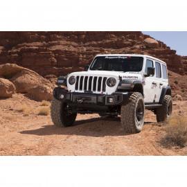 Pare choc avant Jeep Wrangler JL 2018 &+ Spartacus, plateau de treuil