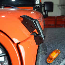 Attache capot (2) JEEP Wrangler JK