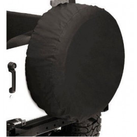 """Housse de roue de secours noire 285/70/17 33''x 11"""""""