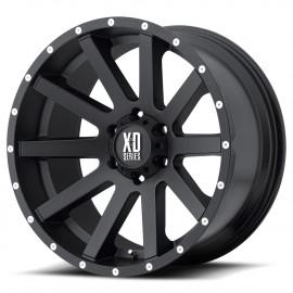 Jante KMC XD818 SATIN BLACK 9 X 18 JL/JK/JT