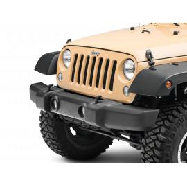 Cache pare choc avant Jeep Wrangler JK &+