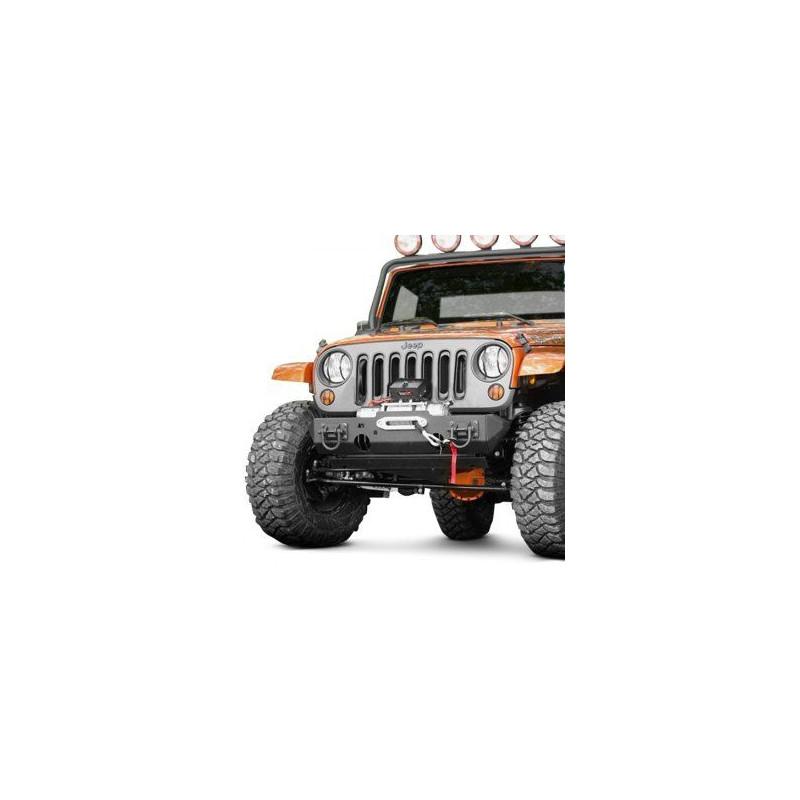 HEAVY DUTY Pare choc avant Jeep Wrangler JK