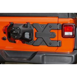 HEAVY DUTY Bâti de charnière porte pneu Jeep Wrangler JL