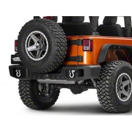 SPARTACUS Pare choc arrière noir Jeep JK