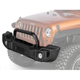 SPARTACUS Kit pare choc avant noir satiné Jeep Wrangler JK