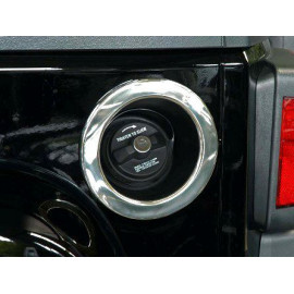 Enjoliveur goulotte carburant INOX Jeep Wrangler JK