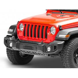 SPARTACUS Pare choc avant noir Jeep Wrangler JL