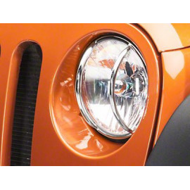 grille protection phare (2) inox jeep JK