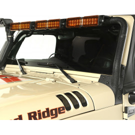 Support bar à led pour 3 x 13.5 Jeep Wrangler JK