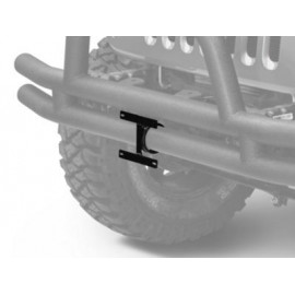 support plaque immat. sur pare choc tube JEEP