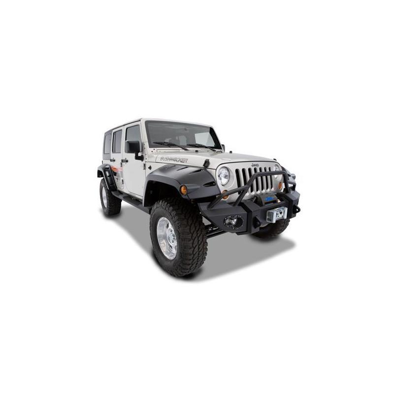 Extension Aile Avant BUSHWACKER Jeep Wrangler JK