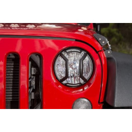Kit protection phare noir Jeep Wrangler JK