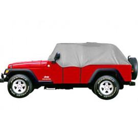 Housse protection Demi-véhicule Jeep Wrangler TJ 4 portes 81034-09