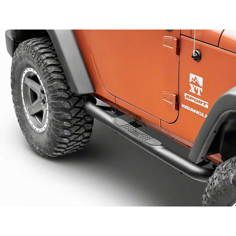 Marche pied Tube GRA Jeep Wrangler JK 2 portes 11591.05