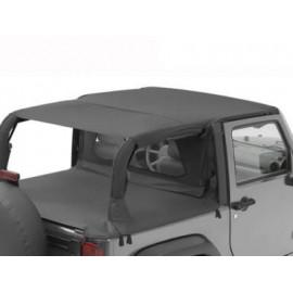 "Bikini ""Header"" ""Safari"" Jeep Wrangler JK 2P 07-09"