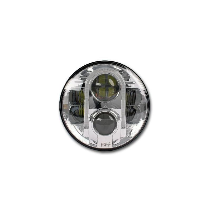 Optique Phare à LED 7 pouces E-mark noir Gerneration 2 Jeep Wrangler JK & TJ07-18 0824.26A