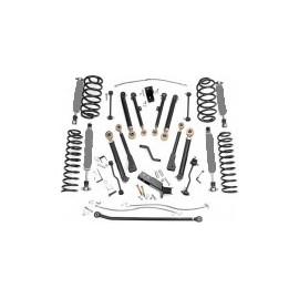 "kit suspension +6"" 150mm avec amortisseurs Jeep Wrangler TJ 1997-06"