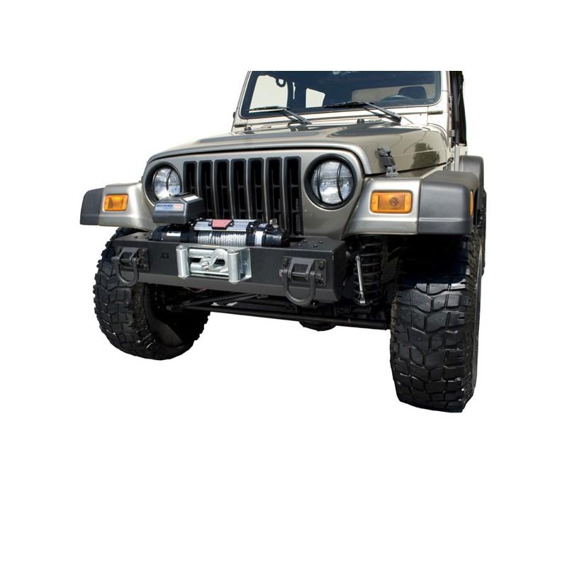 p heavy duty pare chocs avant central avec support treuil jeep cj cj7 wrangler yj tj kulture. Black Bedroom Furniture Sets. Home Design Ideas